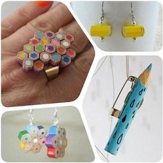Jewelry Pencils #DIY