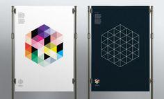 Poster design - Future Building by Ascend Studio #geometric #poster