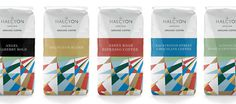 The Halcyon Logo and Identity #coffee #identity #branding