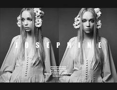 Josephine | Volt Café | by Volt Magazine #beauty #white #design #graphic #volt #black #photography #art #and #fashion #layout #magazine #typography