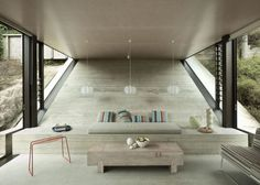 Interior Design Ideas: 12 Concrete Interiors Photo #interior #concrete #design #decor #decoration