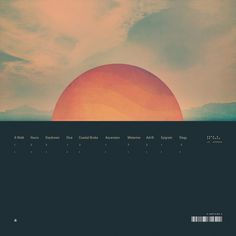 Tycho Dive Album on The Ghostly Store #packaging #design #dive #iso50 #music