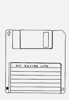 """My entire life"" by David Shrigley #inspiration #illustration #life"