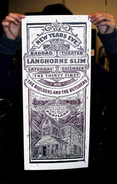 Image of Langhorne Slim New Years #poster