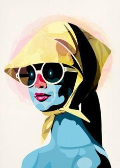 Portraits : Alvaro Tapia Hidalgo #illustration #art