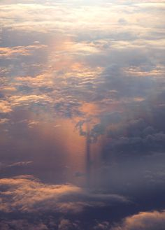 Descent #clouds #aerial #sky #aviation #photography #sunset