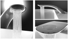 Swirl introduces an interesting new concept that adds a small twist to your everyday faucet, and simultaneously saves water! Designed by Sim