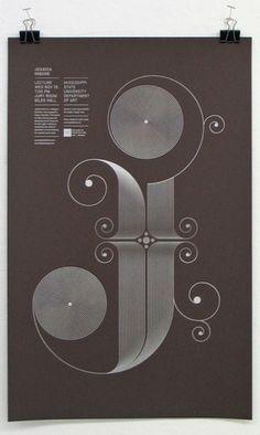 Google Reader (927) #hische #design #jessica #poster #typography