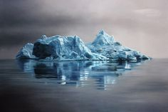 Greenland-62-47x70s by Zaria Forman #painting #art