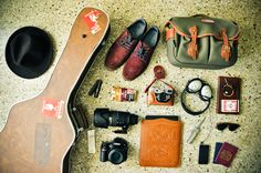 survival #guitar #cameras #shoes #collections