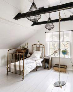 #bed #white #interior
