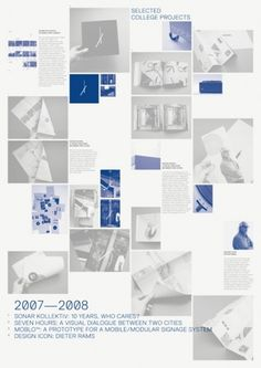 James Cullen | Graphic Designer #grid #poster