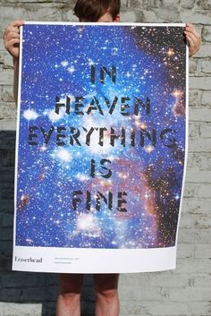 In Heaven : MATTHEW PEEL #poster