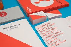Studio Constantine » Studio Constantine #stationery #2 #colour #typography