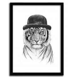 WELCOME TO THE JUNGLE by BALAZS SOLTI #print #house #art #tigre