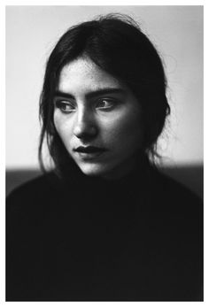 By Rogier Houwen #portrait #woman #girl #black and white #photography
