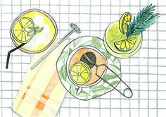 The lemon - Bodil Jane #illustration