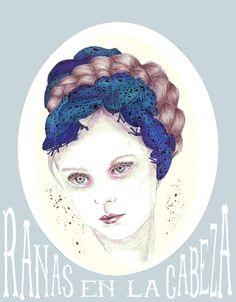 lefay illustration #illustration #handmade #traditional #girl