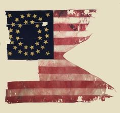 Designersgotoheaven.com @andreirobu Custer's Last... - Designers Go To Heaven #flag #america #history