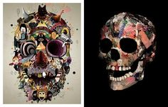 Google Image Result for http://streetblabber.files.wordpress.com/2011/09/thebookofskulls_pdf_page_33 e1317135156802.jpg%3Fw%3D800 #illustration #skulls