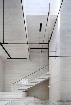 Sky Club House – Minimalissimo #minimal #minimalism #architecture #interiordesign #gym #spa