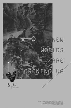 New Worlds : Opening up on the Behance Network #illustration #design #graphic