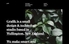 Grafik, inspiration N°285 published on The Gallery in date August 5th, 2015. #website #design