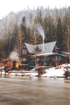 Cabin at Lake Tahoe, California