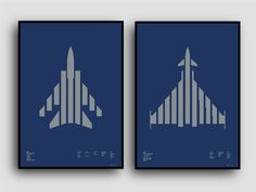 Tornado and Typhoon available on Kickstarter til 4th May Metallic silver on Royal Blue Plike paper #tornado #marks #graphicdesign #screenprint #aircraft #typhoon #plike #gfsmith #paper #typography