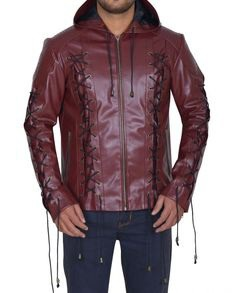 Arsenal Roy Harper Arrown Maroon Jacket (3)