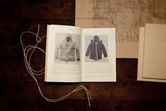 The Great Northern on Behance #old #catalog #book #map #editorial