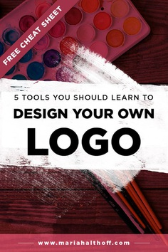 5 Tools You Should Learn to Design Your Own Logo