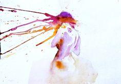 November Me #watercolors #art #girl #paintings