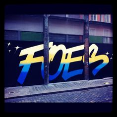 . #graffiti #typography