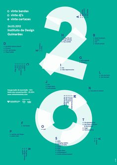 20 Poster design #design #graphic #poster #typography