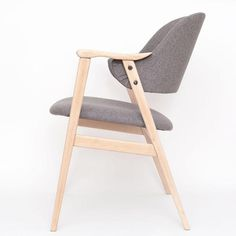 trzy puszki farby #chair #furniture #armchair #gray