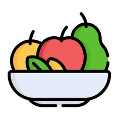 See more icon inspiration related to salad, fruit salad, healthy food, vegetarian, bowl, vegetable, food and fruits on Flaticon.