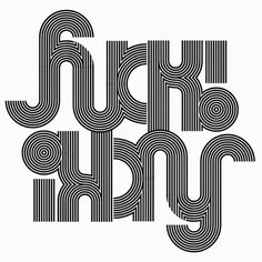 "Sergi Delgado, illustration and graphic Design. Barcelona"" #calligraphy #op #lettering #optical #design #graphic #art #optic #typography"