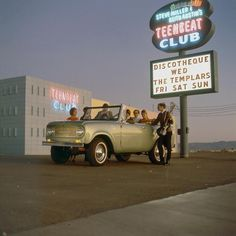 All sizes | Shindig at the Teenbeat Club | Flickr - Photo Sharing! #1968 #neon #las vegas #scout #steve miller