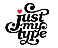 just my type #nice #typography