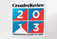 Creative Review CR September issue: Gradwatch 2013 #cover #magazine