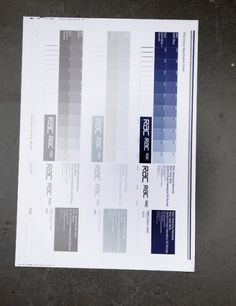 North. Moving, December 2010 #blue #grey #north #test sheet #rac