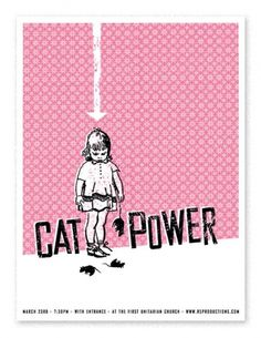 catpower.jpg (502×650) #screen print