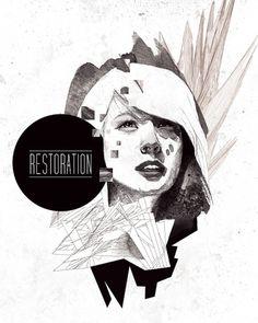 RESTORATION-final.jpg (640×800) #music #illustration #design #art