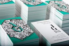 31 Creative Business Card Designs for Your Inspiration - You The Designer | You The Designer #card #business