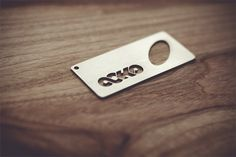 All sizes | Ocho Bottle Opener | Flickr - Photo Sharing! #die #opener #apparel #bottle #design #eight #wood #ocho #typography