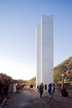 Cerro Del Obispo Monolith by Christ & Gantenbein #design #minimal #monolith