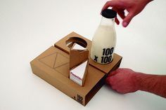100 x 100 - Sustainable Packaging Design #packaging #design #graphic #3d
