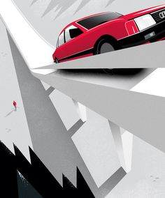 Mattson Creative: Audi Storybook / on Design Work Life #saudi