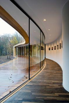 CJWHO ™ (Villa K, Alkmaar, The Netherlands by...) #white #netherlands #design #interiors #luxury